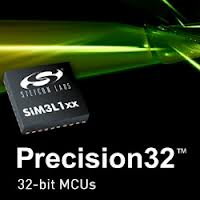 SiLabs SiM3L1 ARM Cortex M3 Embedded Processor For Low Power Embedded Systems