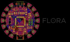 Adafruit FLORA Arduino Compatible Wearable Electronics Platform
