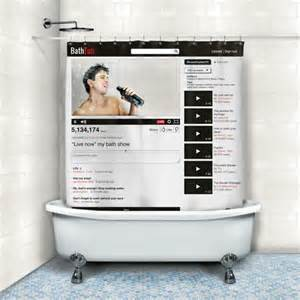 The shower curtain of the future? Via Acumor