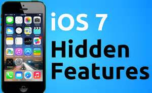 A quick primer on iOS7 tricks Via Acumor