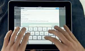 Keyboard Tips for Improving Typing on the iPad