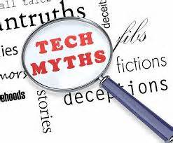 Exposing some surprising tech myths Via Acumor