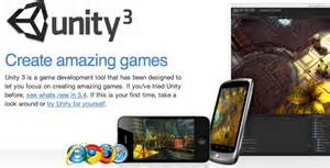 Unity 3D is a cross-platform game engine with a built-in IDE