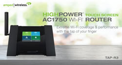 Wi-Fi Router, Range Extender With Touch Screen