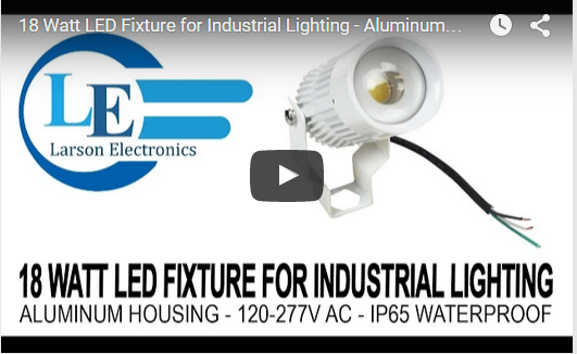 18 Watt Industrial LED Light Fixture