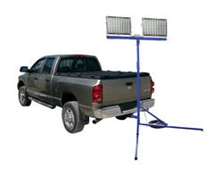 800 Watt LED Trailer Hitch Mounted Work Light