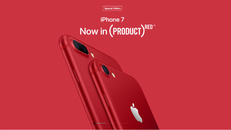 Special Edition iPhone7 Red