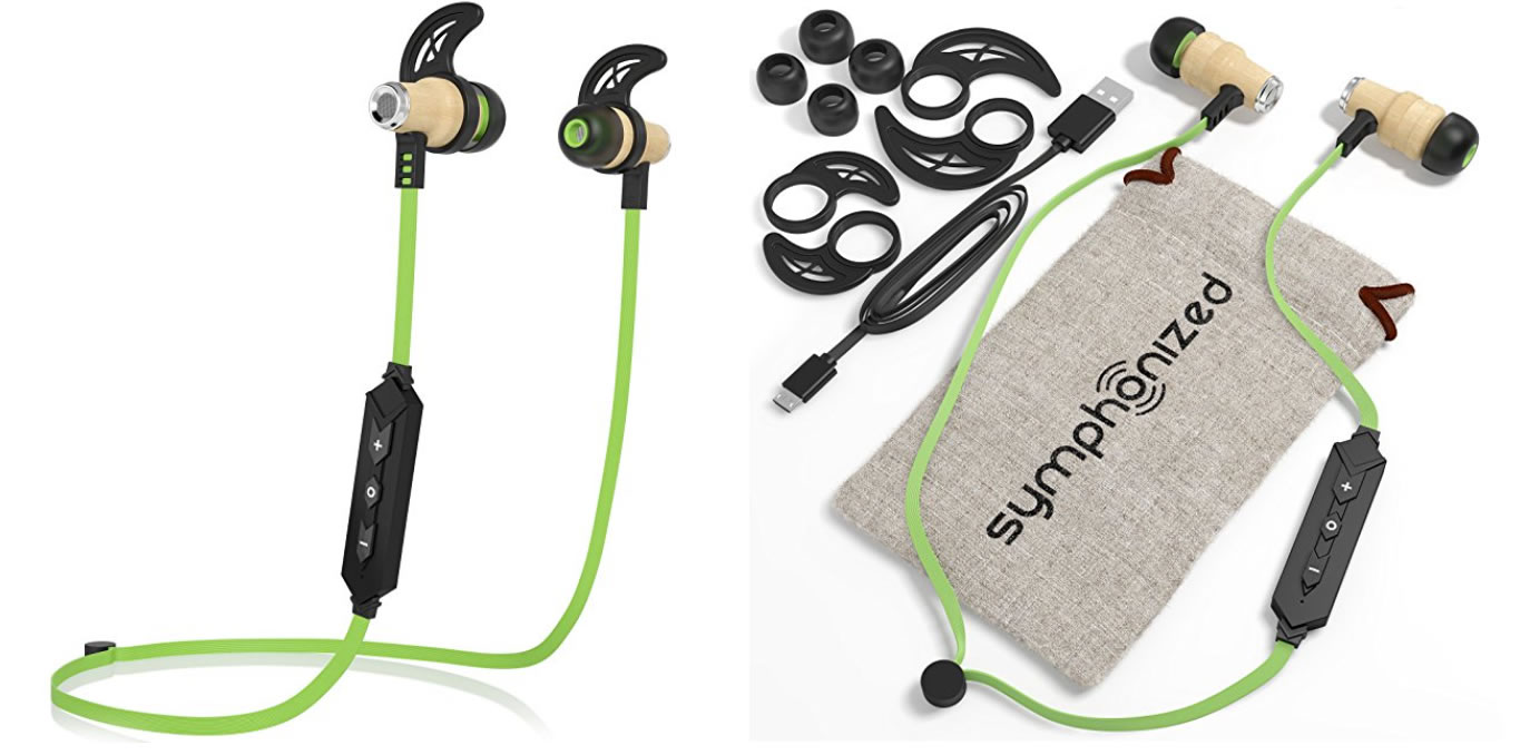 Symphonized Bluetooth Earbuds
