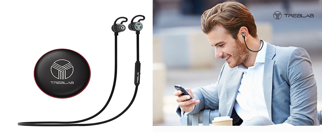 TrebLabs Bluetooth Earbuds