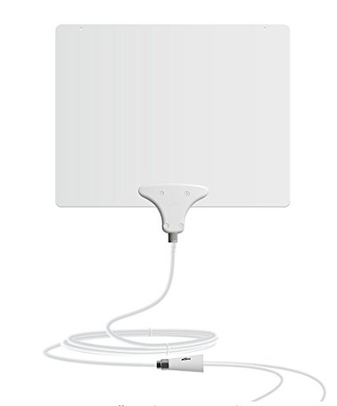 HDTV Mohu Leaf 50 TV Antenna, Indoor, Amplified, 60 Mile Range