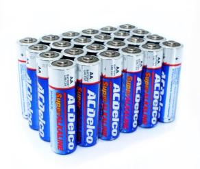 Battery AA ACDelco Super Alkaline AA Batteries