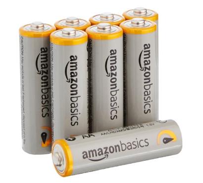 Battery AA AmazonBasics Alkaline Batteries 8 pack
