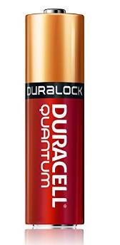 Battery AA Duracell Quantum Alkaline AA Batteries