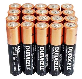 Battery AAA Duracell Coppertop AAA Alkaline Batteries