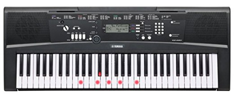 Keyboard Piano Yamaha EZ-220 61-Lighted Key Portable Keyboard