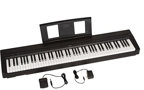 Keyboard Piano Yamaha P71 88-Key Weighted Action Digital Piano