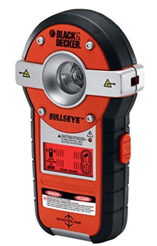 StudFinder Black & Decker BDL190S BullsEye Auto-Leveling Interior Line Laser with Stud Sensor