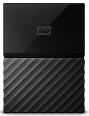 ExtHDD WD 1TB Black My Passport Portable External Hard Drive Black