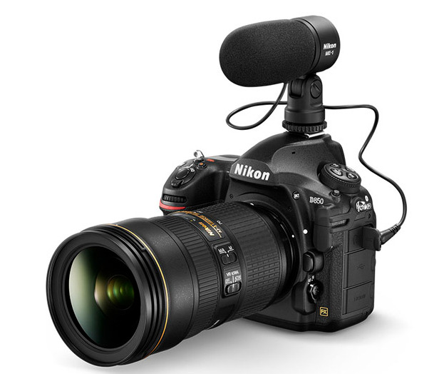 Camera 8K Nikon D850 With Accessories