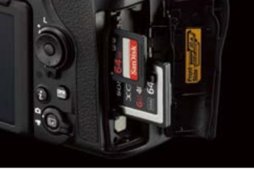 Camera 8K Nikon D850 Memory Slots 2