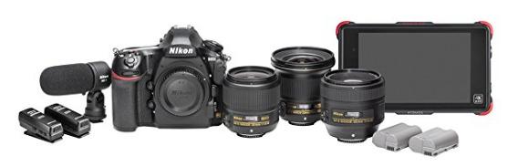 camera 8K Nikon D850 Filmmaker's Kit