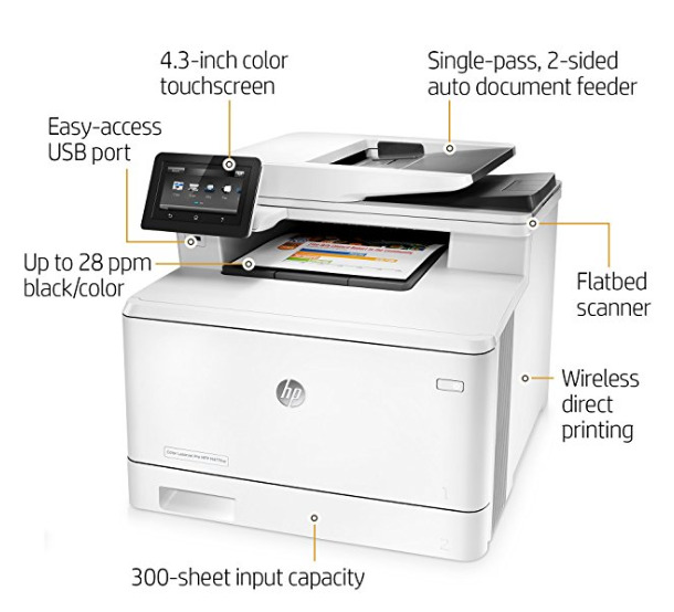 Best Multi-Function All-In-One Color Laser Printer 2018