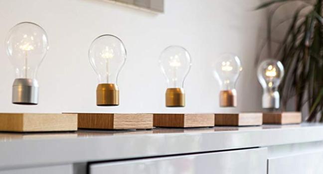 Levitating Light Bulb Runs On Wireless Power