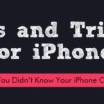 8 iPhone Tips and Tricks [infographic]