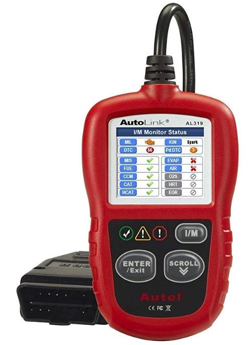 OBD2 Scanner Autel AutoLink AL319 Automotive Engine Fault Code Reader