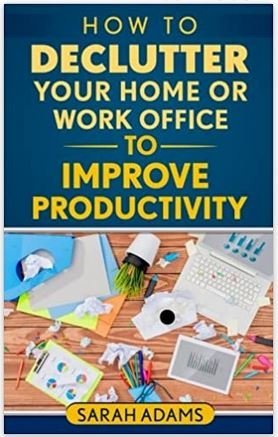 book how to declutter your home office